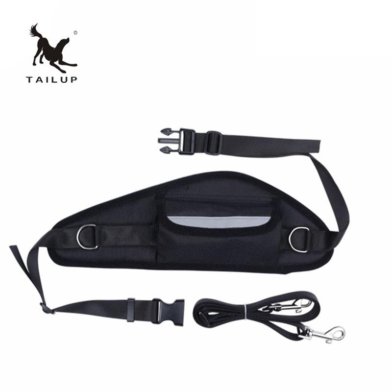 TAILUP Adjustable Hands Free Leash Waist Belt Pet Dog Harness Walking Sport Running Jogging Lead Head Collars Dog-Collar Run
