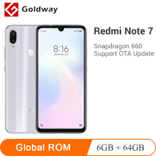 Xiaomi Redmi Note 7 6GB 64GB GSM/WCDMA/LTE Quick Charge 3.0 Octa Core Fingerprint Recognition