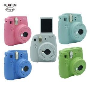 Original Fujifilm Fuji Instax Mini 9 Camera Instant Film Photo Camera Fujifilm Instax Mini 8/9 Films Camera 50 Sheets Film Gift