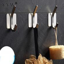 5 PCs/Lot Clothes Hanging Rack Holder Hooks Wall Mounted Hat Hanger Door Wall Hangers Bathroom Towel Hanger Home Organizer