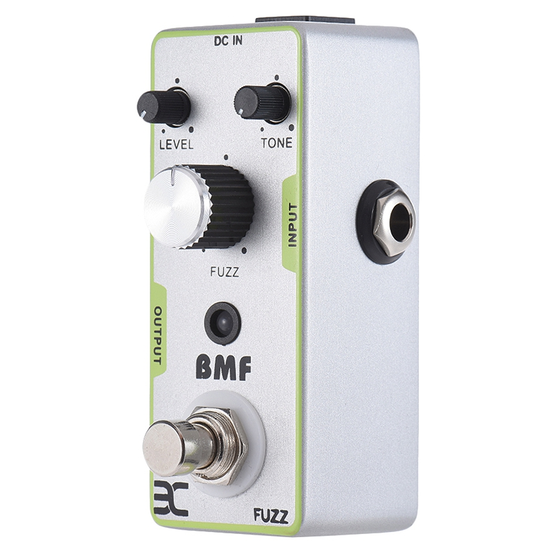 ENO Fuzz Bmf Distortion Guitar Pedal Electric Guitar Effect Pedal Full Metal Shell True Bypass Guitar Parts & Accessories image