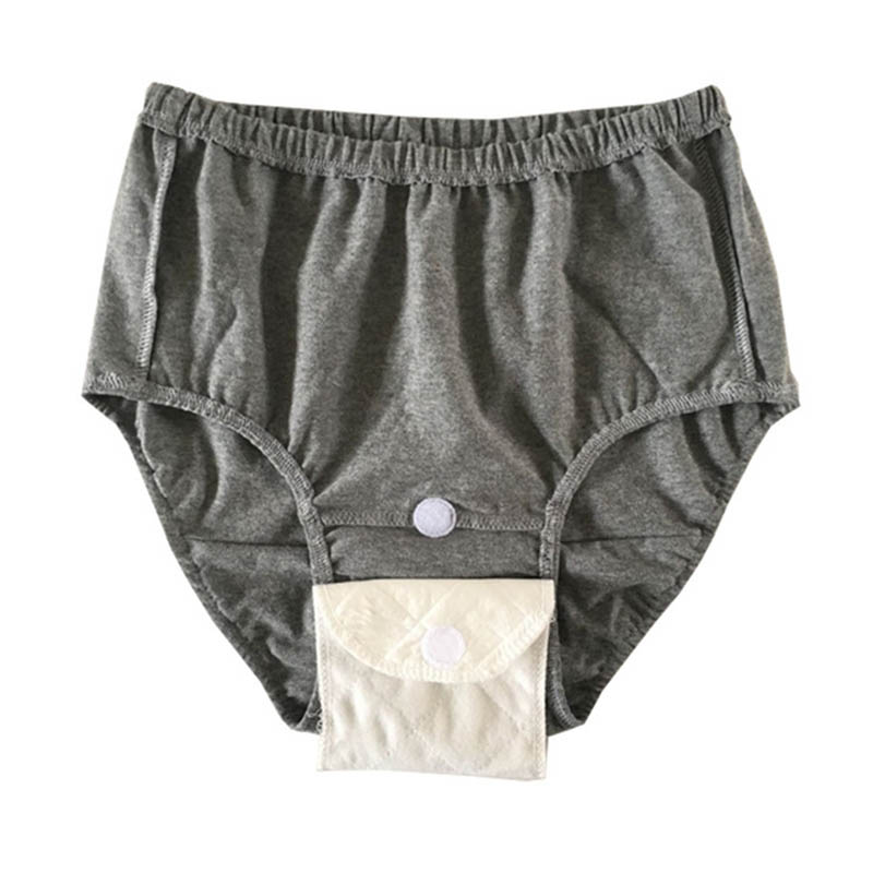 Adult Cloth Diapers Cotton Man Woman Can Wash Elderly Urine Does Not Wet Inserts Incontinence Waterproof Insert Underpants