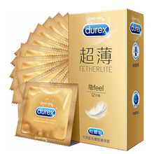 Durex Condoms Ultra Thin Cock Penis Sleeve Natural Latex Smooth Lubricated Condoms for Men Sex Toys Adult Sex Products 10/22pcs durex performax intense condoms 10 pack