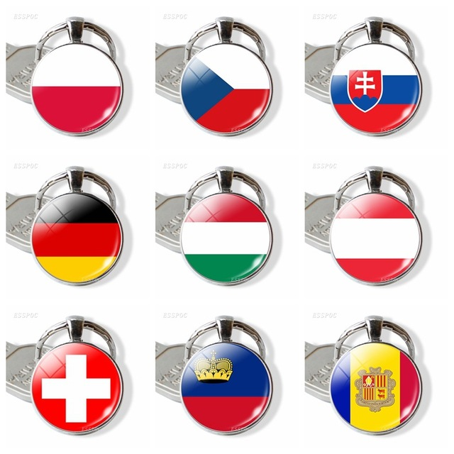 Фото европейский флаг кольцо для ключей оптовая продажа великобритания цена
