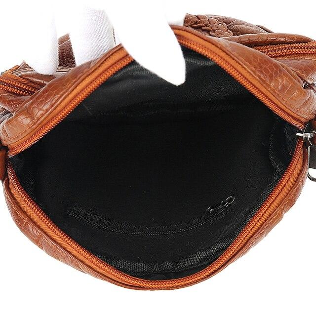 Женская сумочка из высококачественной искусственной кожи 6