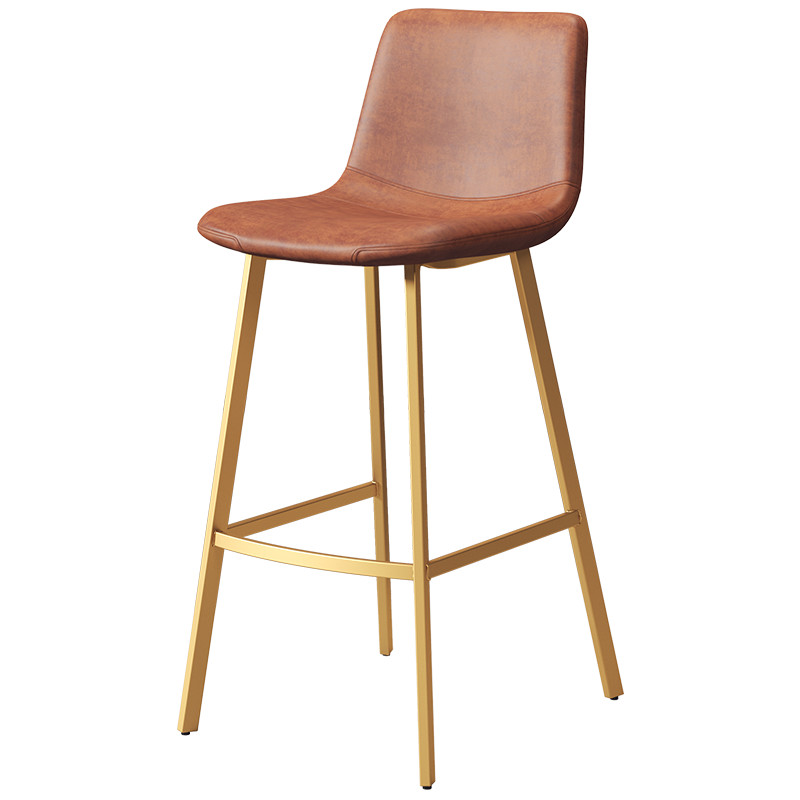Nordic Light Luxury, Wrought Iron Household Contracted The Bar Chair Stool Bar Chair, Leisure Cafes Web Celebrity Chair Back Of
