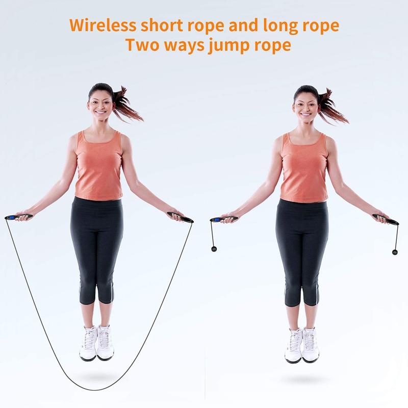 Adjustable Skipping Jump Rope Digital Counter Jumping Exercise GG