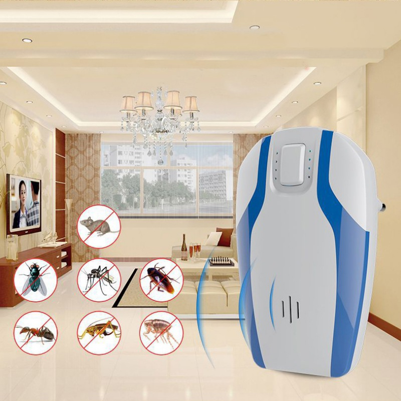 Pest Control Ultrasonic Repeller Electronic Plug in Pest Repellent for Insects Mosquitoes Mice Rat Roaches Bugs Flies