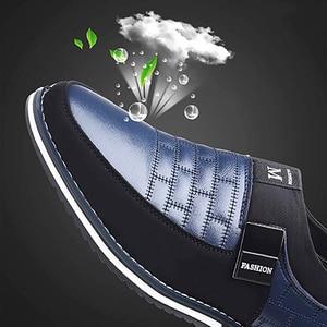 Image 4 - オックスフォードレザー靴ファッションでフォーマルなビジネスシューズのためのカジュアル革靴マンドロップシッピング