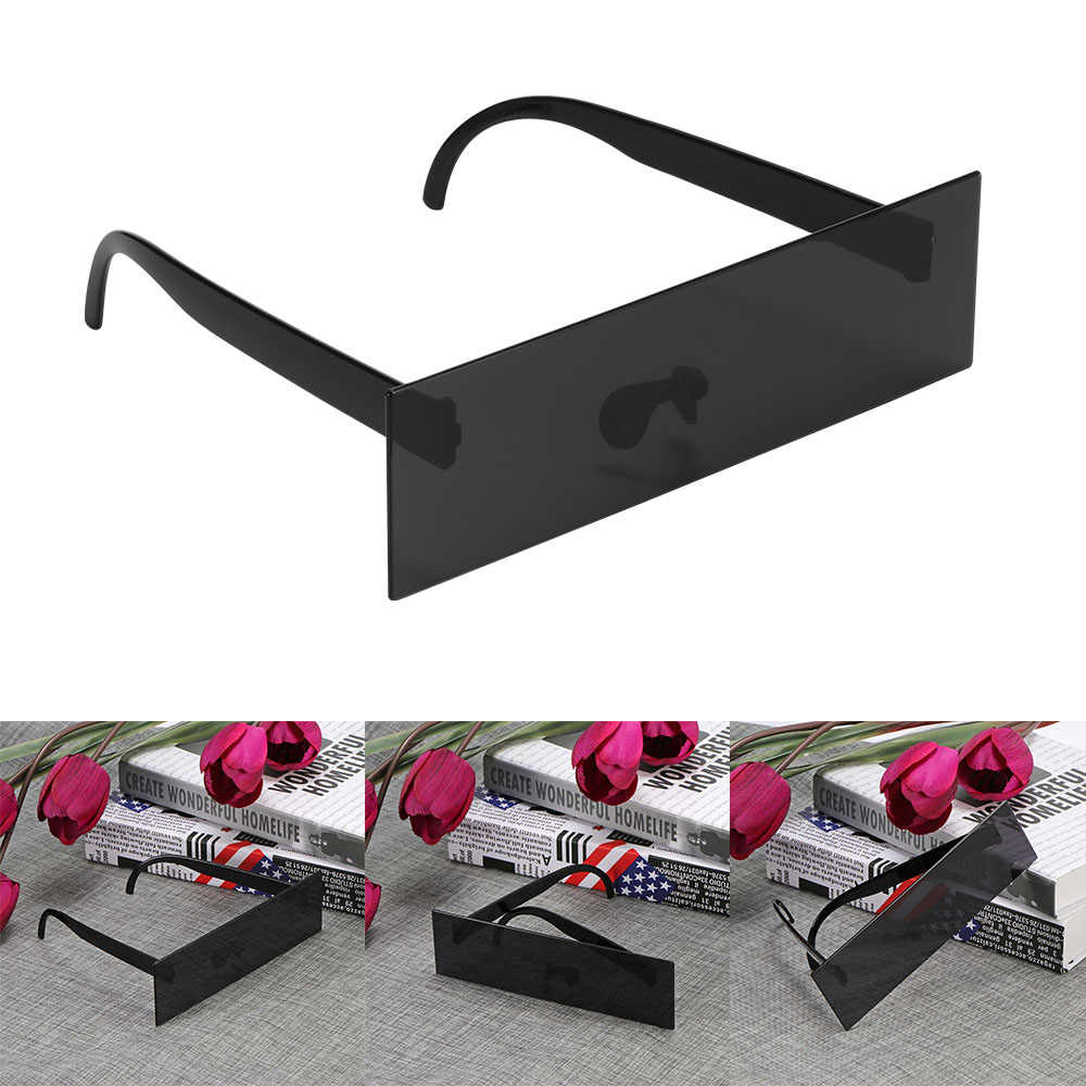 Driver Glasses Photobooth Props Censor Bar Sunglasses Black Eye Covered Sunglasses Photo Booth Props Weeding Party Decoration