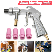 Nozzles Sandblaster Ceramic Blast-Replacement Power-Tools Feed Pneumatic with Metal Multifunctional