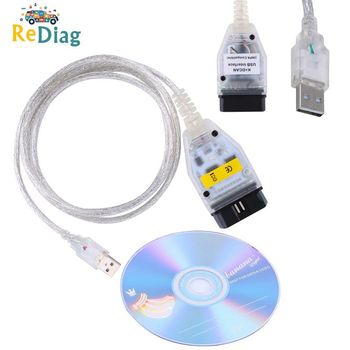 High qugality INPA FT232RQ USB works For BMW OBD CAN Reader Diagnostic scanner INPA DIS SSS NCS Coding For BMW From 1998 To 2008 image