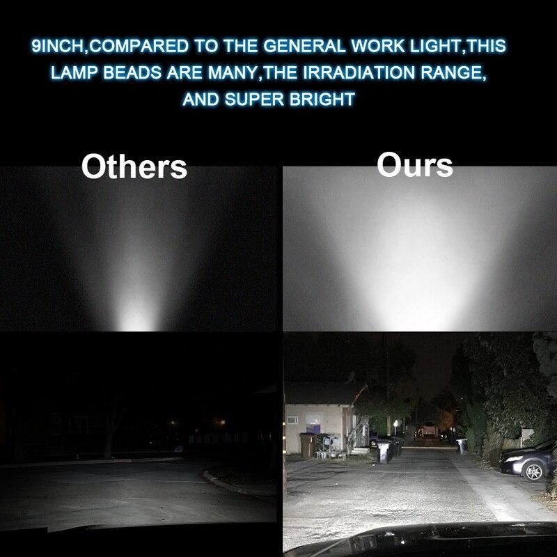Garant/ía de 1 a/ños Safego Barra de luz de Trabajo de luz estrobosc/ópica LED Barra de luz de Punto de inundaci/ón de 28 396W 31680LM Luces de Carretera de Color /ámbar Blanco para cami/ón con arn/és
