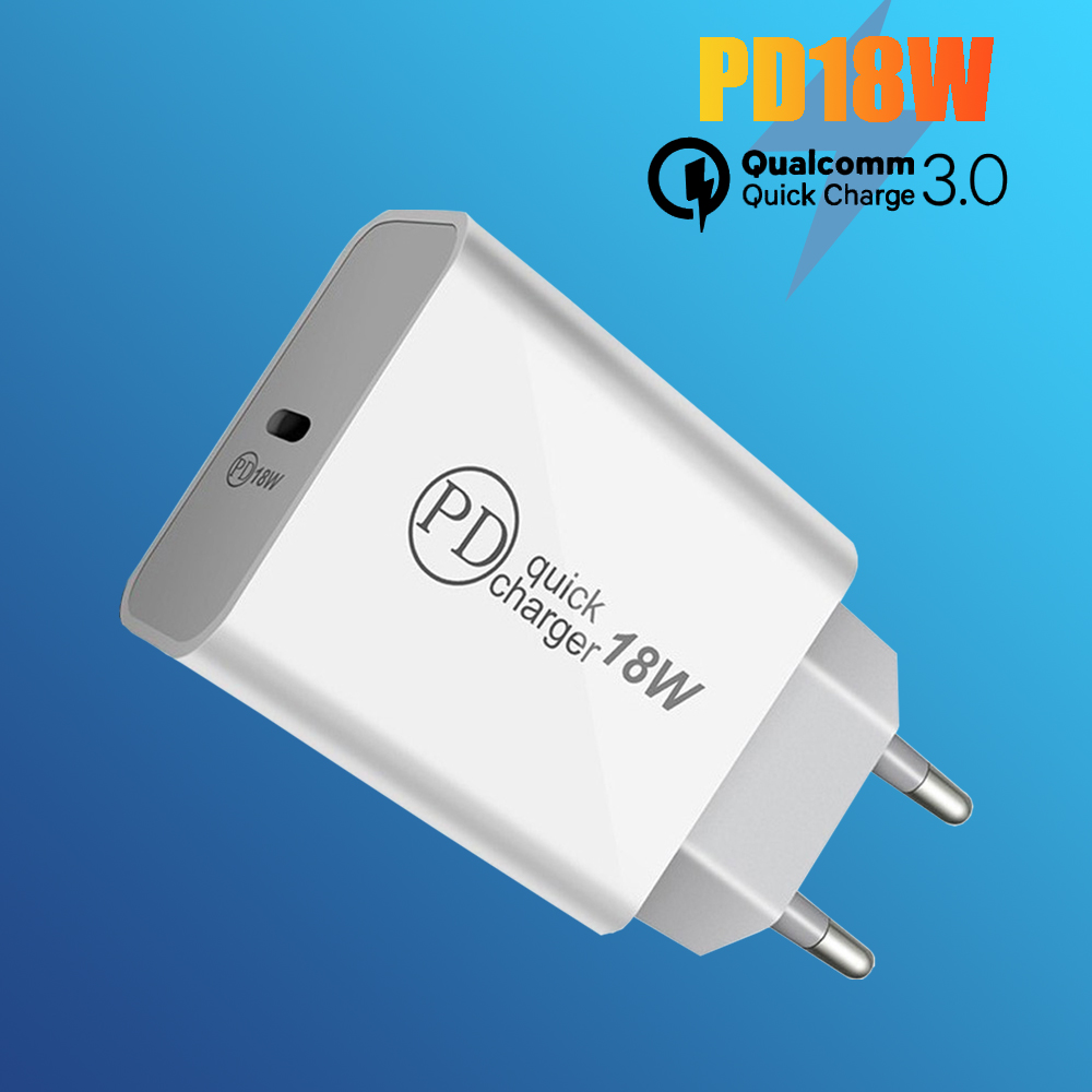 Cargador USB PD de 18W con Carga rápida 3,0 4,0 QC 3,0, cargador para iPhone 11X8, Cargador USB de pared tipo C para Huawei Xiaomi Bakeey 12 en 1 USB tipo-c HUB a HDMI RJ45 Multi USB 3,0 adaptador de corriente para MacBook-Pro estación de acoplamiento para portátil