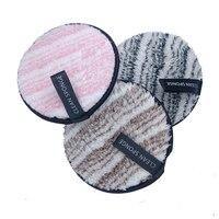 Esponja de fibra suave para maquillaje, 3 uds. De esponja de doble cara, fácil de usar