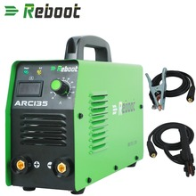 REBOOT ARC Digital welder Portable ARC135 welding tool 220V ARC Welder 120 Amp MMA Inverter Welding Machine EU Plug