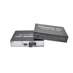 Image 2 - 1 par 1 canal hdmi para conversor de fibra 1080 p hdmi fibra óptica vídeo extensor conversor hdmi vídeo fibra transceptor