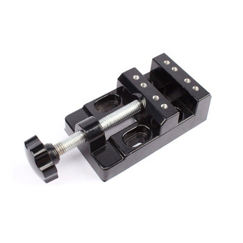 Hand Tool mini Jaw Bench Clamp Drill Press Vice Opening Parallel Table Flat Vise DIY Sculpture Craft for cnc router machine цена 2017