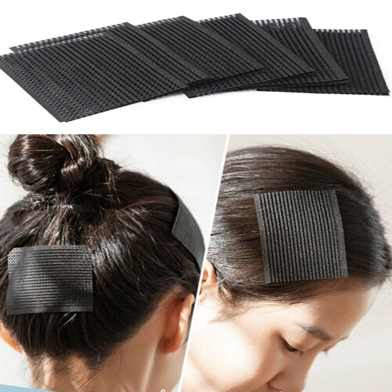 6pcs Hair Small Sticker Clip Bangs Fixed No Trace Magic Post Post Velcro Edge Hair State Patch