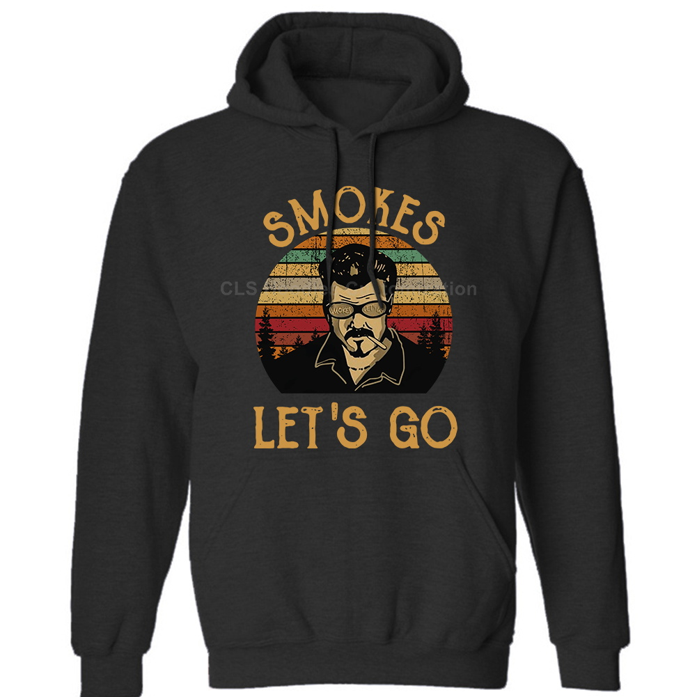 US $22.01 15% OFF|Trailer Park Boys Smokes Let's Go Vintage Mens Neutral (Womens) Winter Hoodies Sweatshirts Free Shipping in Hoodies & Sweatshirts