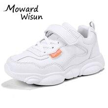 Size 28-39 New White Little Bear Children Sport Shoes Kids Boys