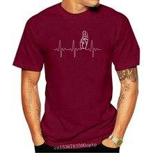 T-Shirt Scout Movimento Battito Cardiaco per Gli Uomini di Marca Vestiti di Estate 2017 o-collo Manica Corta In Cotone