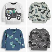 Quality 100% Terry Cotton Sweaters Tee Girl Brand Baby Boys Clothes Bebe Kids Sweatshirt t shirt Hoodies Girls Children Clothing