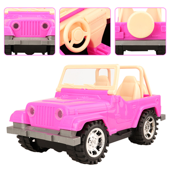 New high quality  Kids toys auto car toy doll accessories ken doll clothes bag shoes dress Machine for barbie game best DIY Gift 1