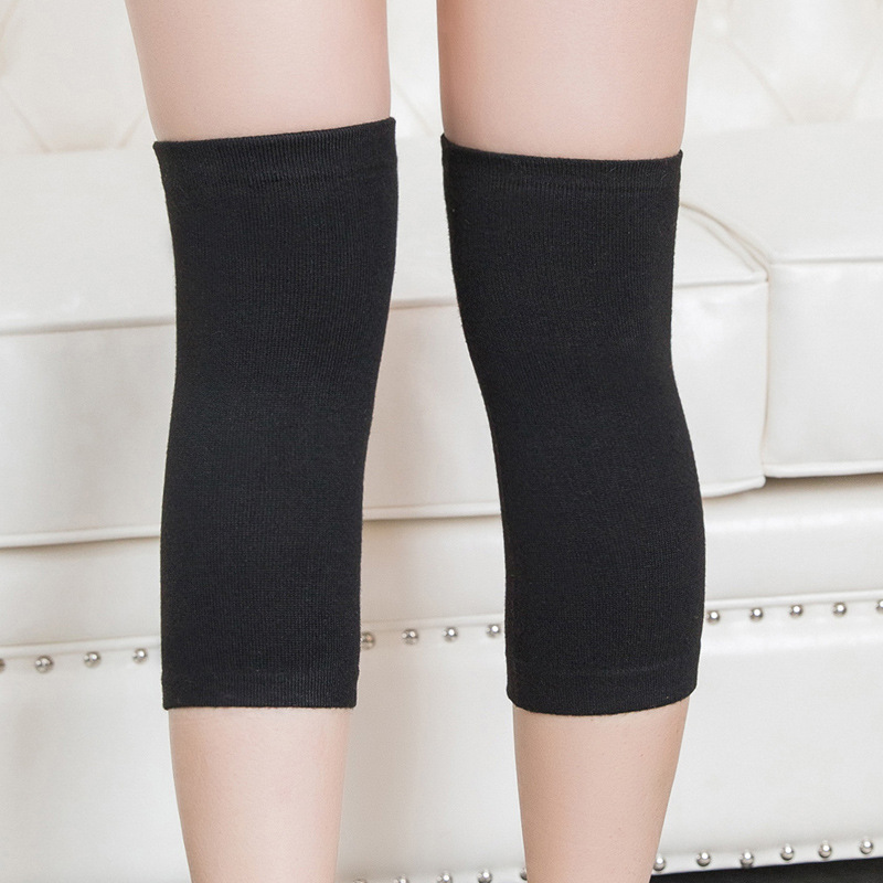 Hair Kneecap Men And Women Spring And Summer Thin Seemless Air-conditioned Room Kneecap Cover Kneecap Warm Joints Old Cold Legs