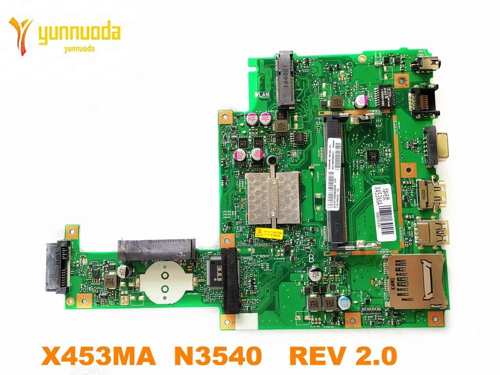Original For ASUS  X453MA Laptop Motherboard X453MA  N3540   REV 2.0 Tested Good Free Shipping