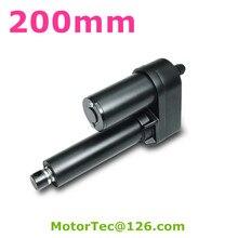 LV-30 1000 кг сила 160 мм/сек. скорость 200 мм ход 12 В 24 В постоянного тока электрическая промышленность линейный привод, быстрая скорость линейный привод