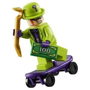 Image 4 - Lego DC Siêu Anh Hùng BATMAN VS Riddler Cướp Bộ Xây Dựng LEGO Ninjago LEGO Duplo Khối Xây Dựng 76137 Tự Làm Đồ Chơi Giáo Dục