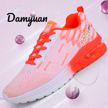 Damyuan Running Shoes Breathable Light Comfortable Women's Sneakers Non-slip Wear-resisting Height Increasing Women Sport Shoes