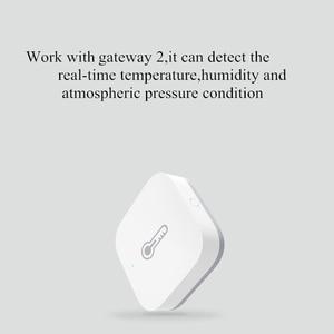 Image 2 - Aqara Smart Air Pressure Temperature Humidity Environment Sensor Work With Android IOS APP Control Industrial Sensor In Stock