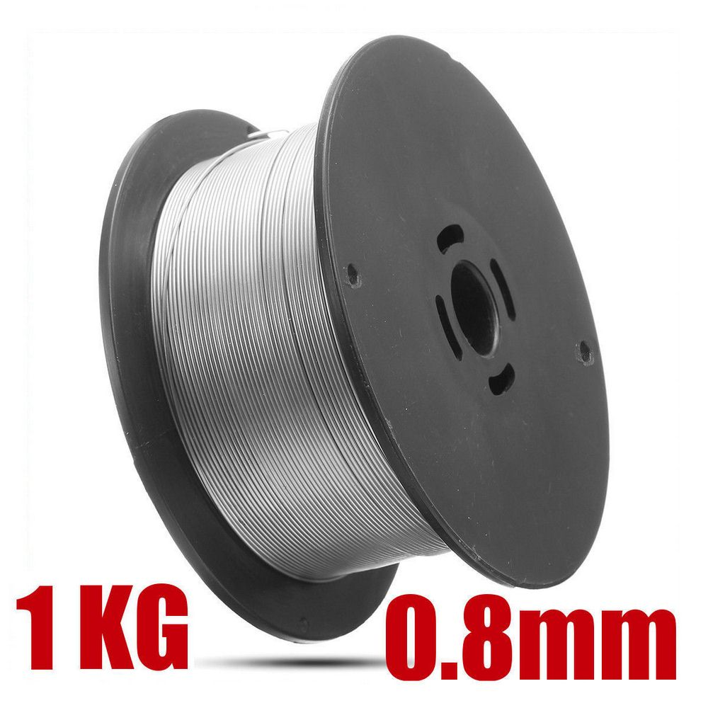 1 Roll Stainless Steel Welding Wire 0 8mm 1kg Solid-Cored MIG Welder Tools for Food General Chemical Equipment 100x45mm