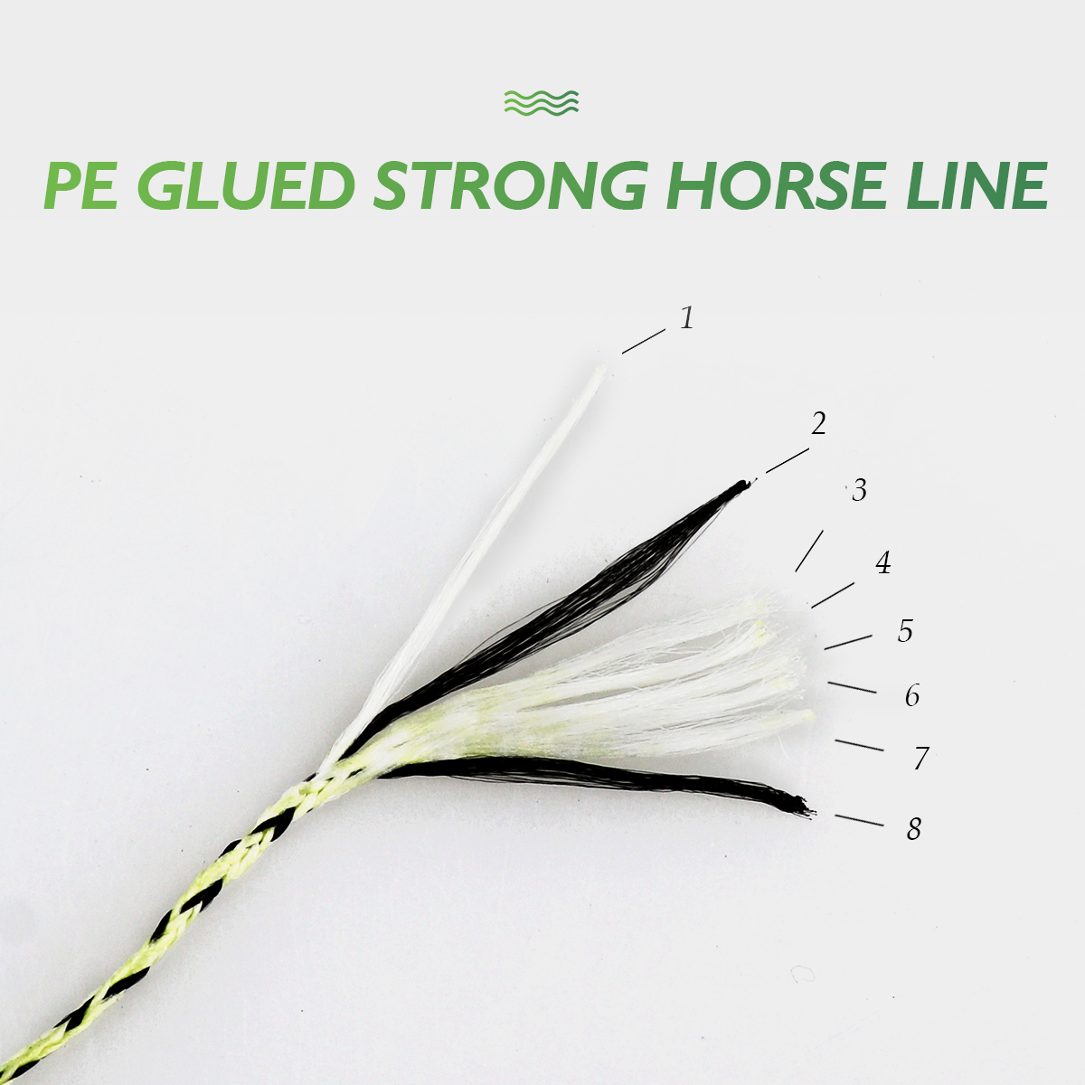 Image 5 - Fishing line 1500m 2000M super pe 8 Strands spot line mix color braided line fishing wire strong cord 8 300LBS 0.12  0.8 1.0mm-in Fishing Lines from Sports & Entertainment