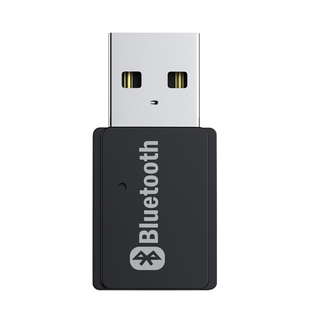 2 In 1 USB Bluetooth 5.0 Adapter Audio Transmitter BT Receiver Mini USB Bluetooth Dongle Wireless Adapter For Computer PC Laptop