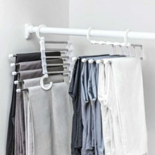 Hangers-Holders Trousers Closet-Organizer Storage-Rack Space-Saver Multifunctional-Pants