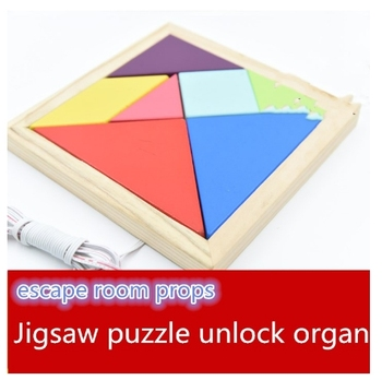 real life games escape room props Jigsaw puzzle unlock organ Neves Finished product props escape room game