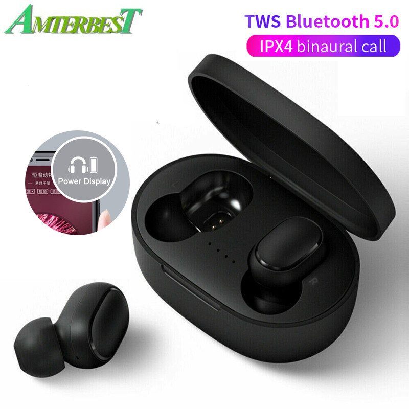 Amterbest A6s 5 0 Tws Bluetooth Headsets Wireless Earbuds Stereo Earphone Noise Cancelling Mic For Iphone Android Smartphones Aliexpress Com Imall Com