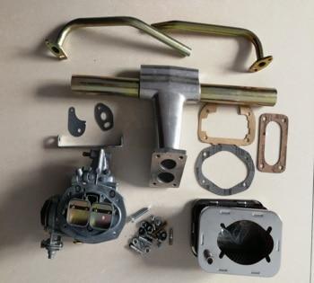 SherryBerg FAJS 32/36DFEV carb carburettor conversion kit for VW Bug Bus single port heads fit Type1 Beetle Type2 GOOD QUALITY