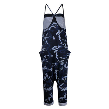 Summer Women Sexy Jumpsuits Camouflage Print Spaghetti Strap V Neck Casual Sleeveless Military Streetwear Rompers 3