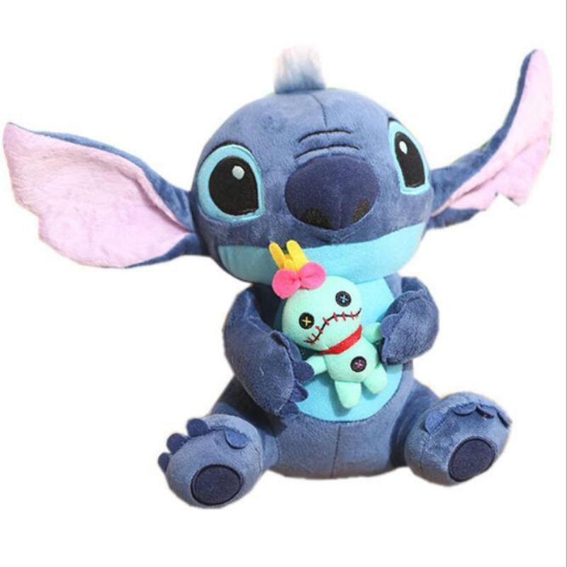 2020 Hot Kawaii Stitch Plush Doll Toys Anime Lilo And Stitch Stuffed Doll Cute Stich Plush Doll Kids Birthday Gift Children Toy