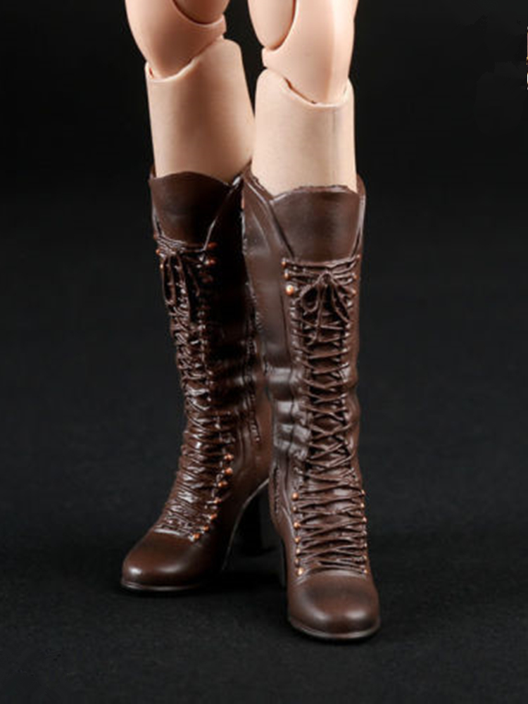 Shoes Boots High-heeled for 1//6 Custom Female Phicen Verycool Kumik doll