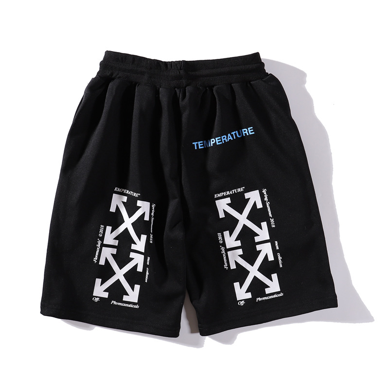 New Style 19ss Summer Wear Popular Brand Arrowhead Athletic Pants Men And Women Street Loose-Fit Trend Shorts