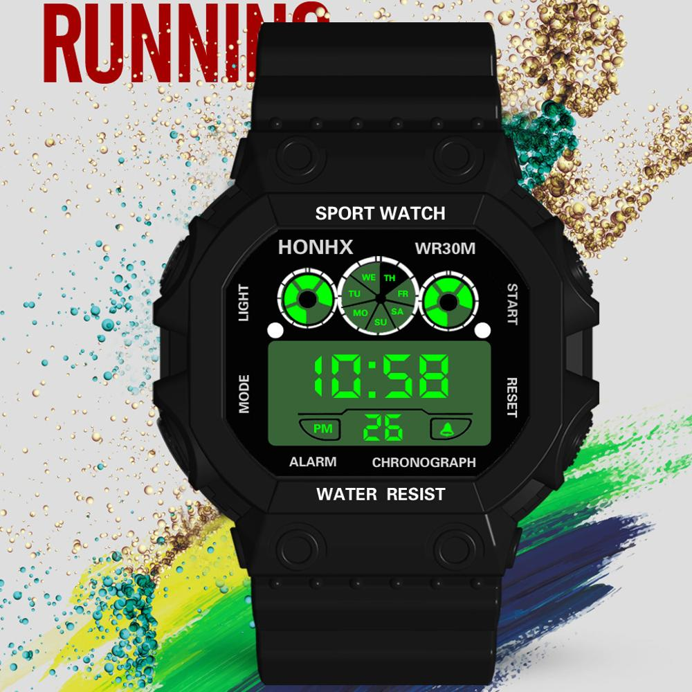 9-18year Children's Wristwatch Student Outdoor Sports Watch Fashion Kids Digital Clock Boy Hour Military Car Style Date XX2023