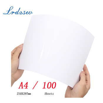 100Sheets Glossy A4 Photo Paper for Inkjet Printer Paper Imaging Supplies Printing Paper Photographic Color Coated - DISCOUNT ITEM  20 OFF Education & Office Supplies