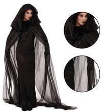 Женский карнавальный костюм на Хэллоуин платье ведьмы для ночного