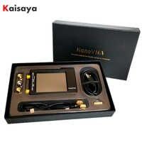 Nanovna-h 50KHz ~ 1.5GHz VNA 2.8 pouces LCDHF VHF UHF analyseur de réseau vectoriel UV analyseur d'antenne + 450MAhBattery + PlasticCase I4-003