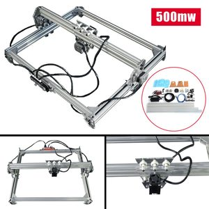 Laser Engraving Cutting Machine 65x50cm 500mw DC 12V DIY Engraver CNC 2Axis Wood Router/Cutter/Printer Marking Logo